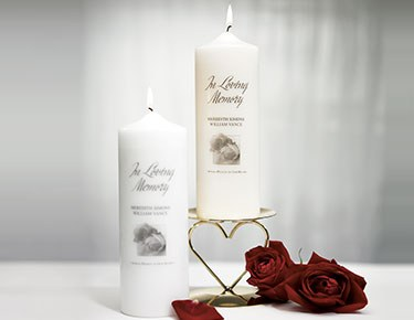 Memorial Candles & Accessories