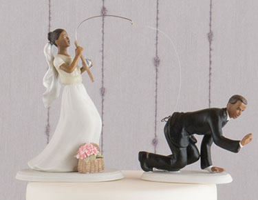 Wedding cake toppers figurines personalized the knot shop funny cake toppers junglespirit