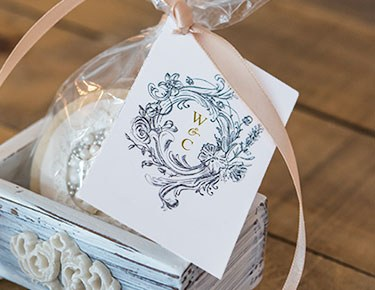 Large Rectangular Favor Tags – Two-sided Print