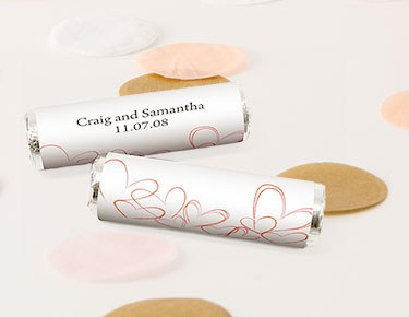 Personalized Candy Roll Wrappers