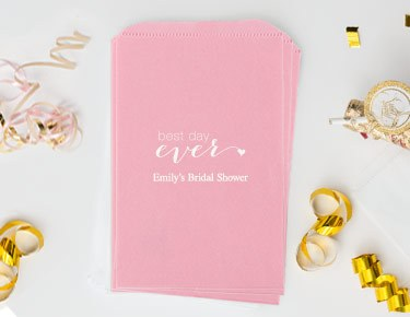 Bridal Shower - Personalized Favor Bags