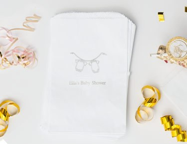 Baby Shower - Personalized Favor Bags