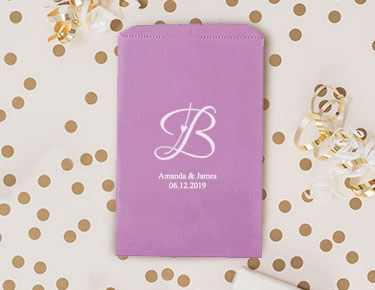 Monogram - Personalized Favor Bags