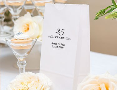 Milestone Year Designs - Personalized Gusset Favor Bags