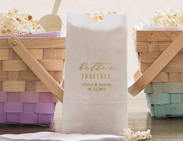Wedding Designs – Personalized Gusset Favor Bags