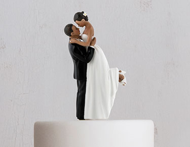 cf9bf00a5b Wedding Cake Toppers: Figurines, Personalized - The Knot Shop