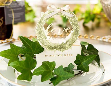 Nature & Woodland Wedding Favors