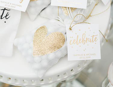 Romantic Heart Favors