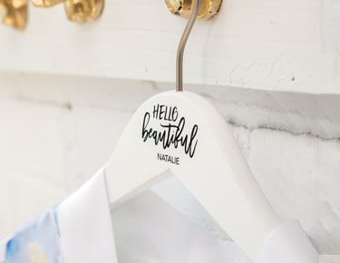 Wooden Wedding Hangers