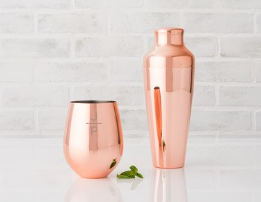 Moscow Mules & Copper Drinkware
