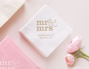 Wedding Designs Personalized Napkins