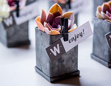 Industrial Chic Wedding Favors