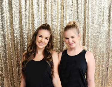 Fabric & Sequin Backdrops