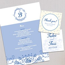 Wedding stationery sets themed invitations the knot shop vintage romance junglespirit Gallery