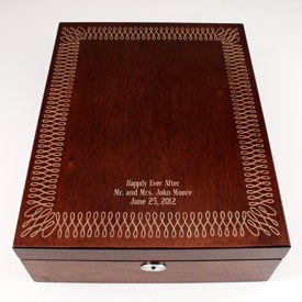Format & Love Letter Wedding Ceremony Wine Box Set - The Knot Shop Aboutintivar.Com