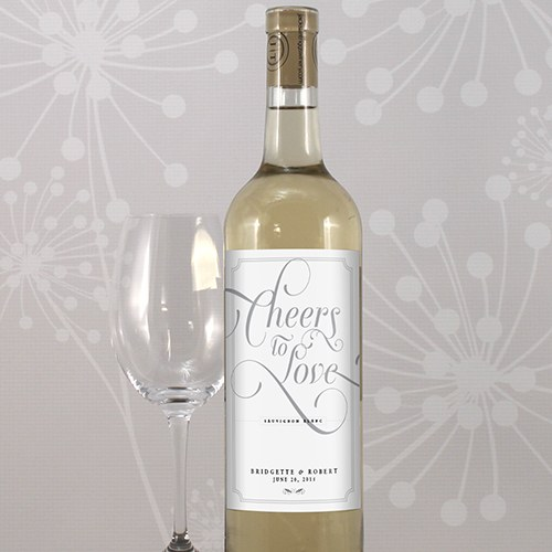 Expressions Wedding Wine Label