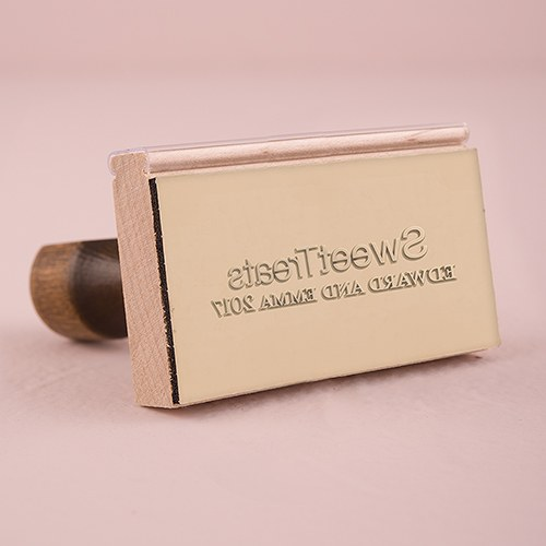 Sweet Treats Personalized Rubber Stamp