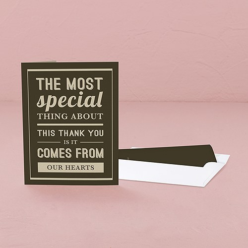 Bistro Bliss Thank You Card With Fold
