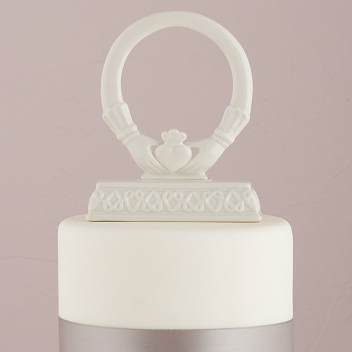 Claddagh Wedding Cake Topper