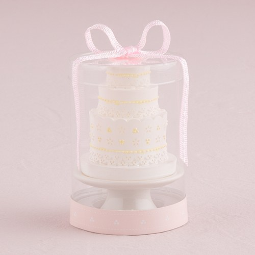 wedding cake candles favors lace wedding cake candle the knot shop 22157