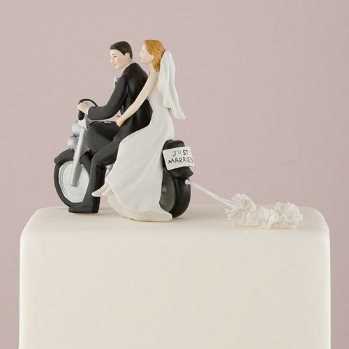 Motorcycle cake topper wedding cake toppers the knot shop