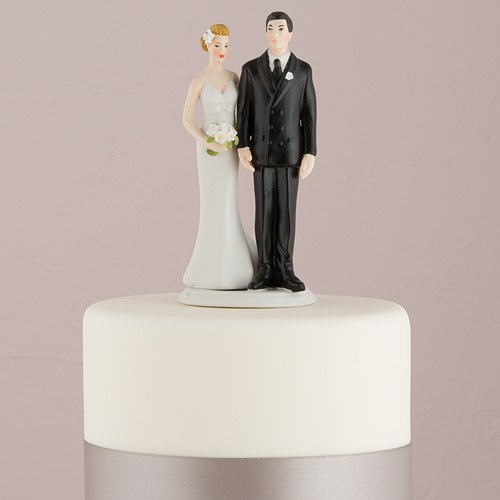 the love pinch bridal couple figurine