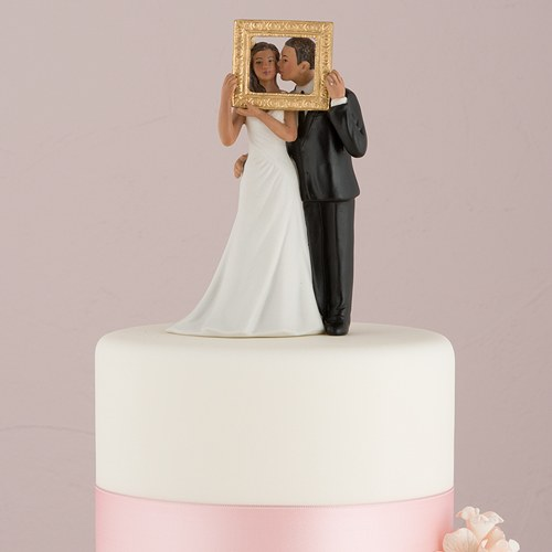 wedding cake topper figurines uk quot picture quot figurine confetti co uk 26321