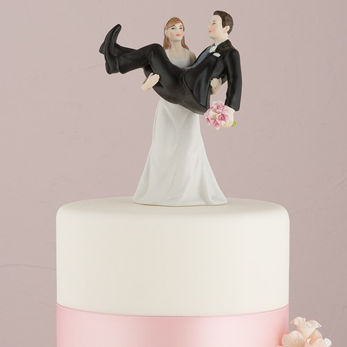 funny wedding cake toppers canada quot to and to hold quot holding groom figurine 14595