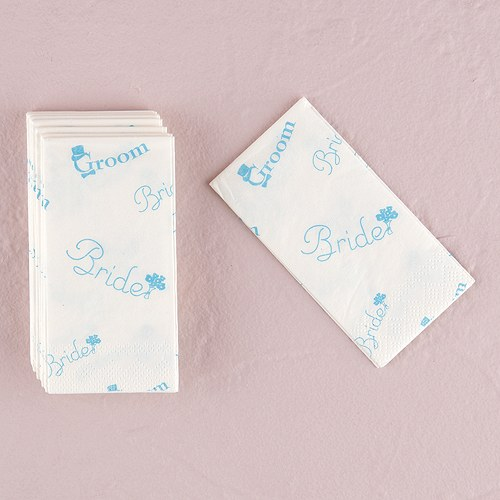 """Traditional Wedding Gift From Groom To Bride: Bride And Groom Wedding Tissues In Traditional """"Something"""