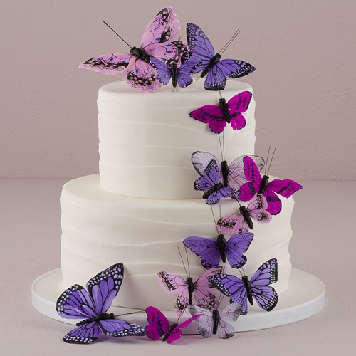 Cake Images Butterfly : Beautiful Butterfly Cake Sets, Butterfly Wedding Favors ...