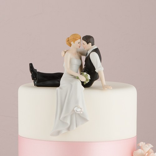 the look of love bride and groom couple figurine