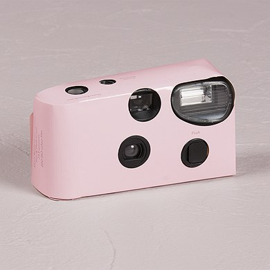 Pink Disposable Camera – Solid Colour Design