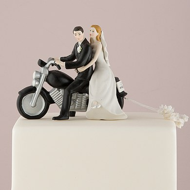 Getaway Motorcycle Wedding Cake Topper The Knot Shop