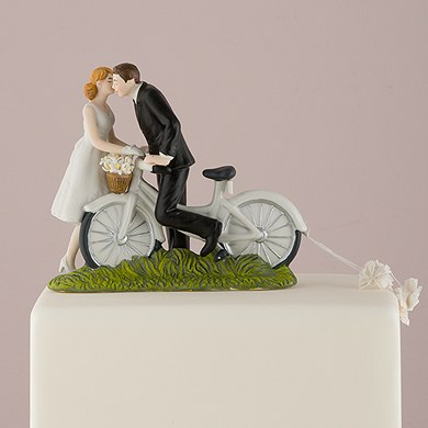 Bicycle Cake Topper Custom Wedding Cake Toppers The