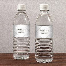 City Style Water Bottle Label
