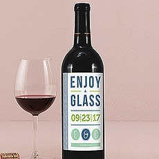 Smart Type Wine Label