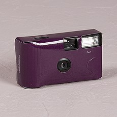 Purple Single Use Camera – Solid Color Design