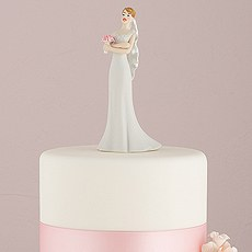 Bride Losing Patience Cake Topper