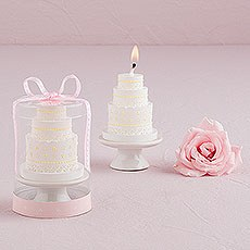 Candles Wedding Favors