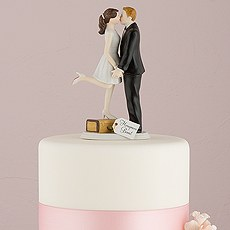 """""""A Kiss and We're Off!"""" Figurine"""
