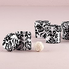 Love Bird Damask Favor Box