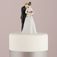"""Yes to the Rose"" Bride and Groom Couple Figurine"