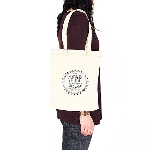 Free Spirit Personalized Tote Bag