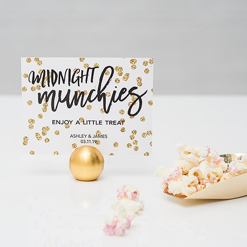 Sparkle Table Card