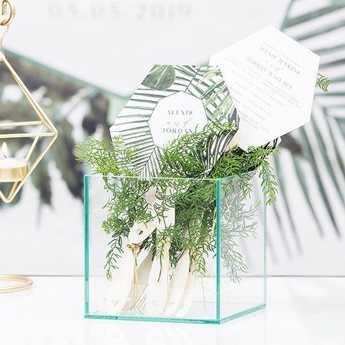 Greenery Personalized Hand Fan