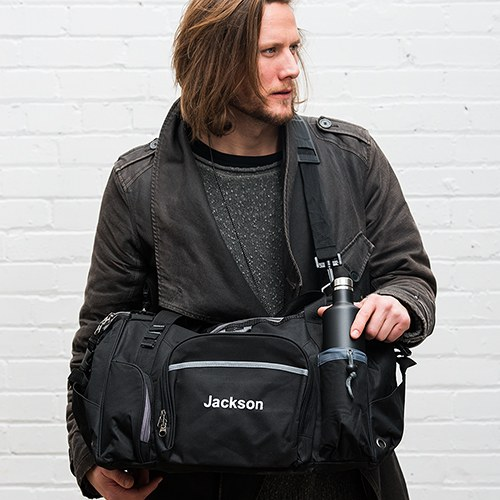 Exploration Duffle Bag Black And Gray