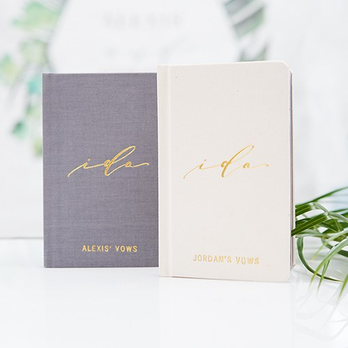 Personalized Vow Pocket Notebook – I Do