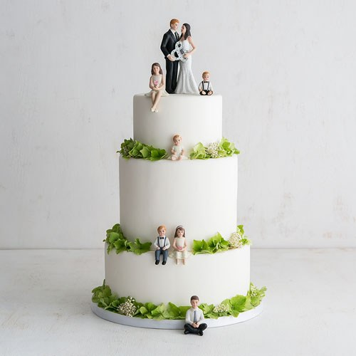Mr. & Mrs. Porcelain Figurine Wedding Cake Topper With Ampersand ...
