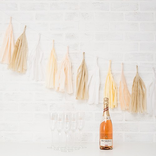 Tissue Paper Tassel Garland Party Decoration