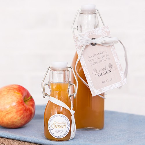 Mini Swing Top Bottle Bottle Wedding Favor - 2 1/2oz (70ml)